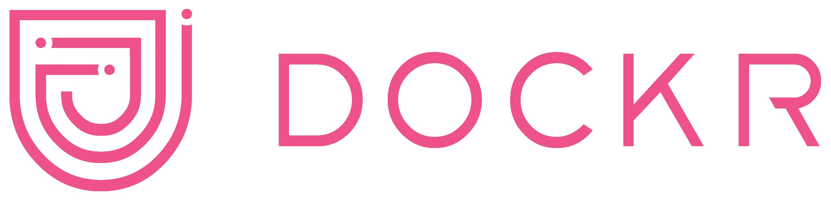 DOCKR Logo roze-1
